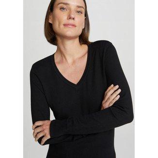 Suéter Feminino Modelagem Slim Hering