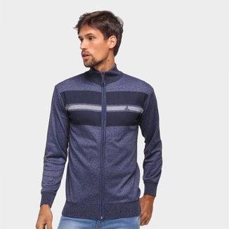 Suéter Lucky Sailing Ziper Inteiro Masculino