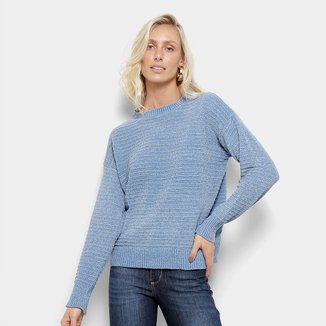 Suéter Tricot Facinelli Lurex Feminino