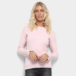 Suéter Tricot Facinelli Maquinetado Feminino