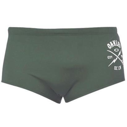 Sunga Oakley Print Swim Trunk Masculino