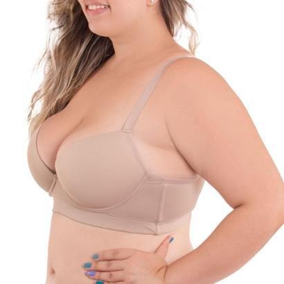 Sutiã Bojo Sustentação Reforçado Plus Size Liebe-Feminino