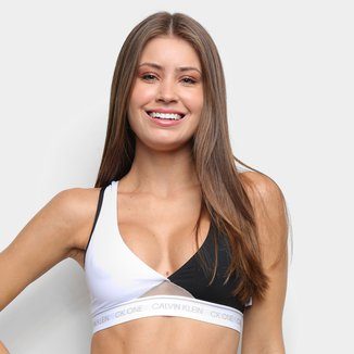 Sutiã Top Calvin Klein CK One Color Block