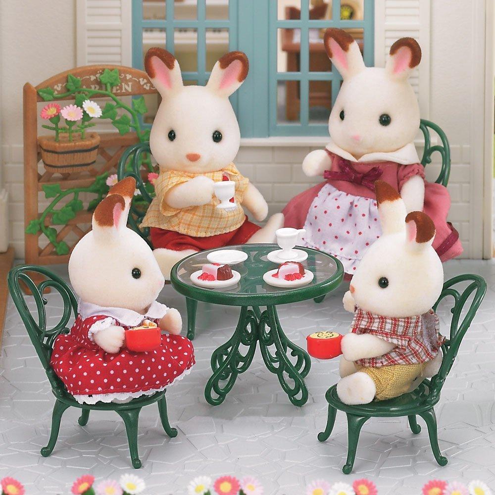 Families Conjunto Mesa E Cadeiras Ornamentais Epoch Incolor ~ Cozinha Da Minnie De Verdade