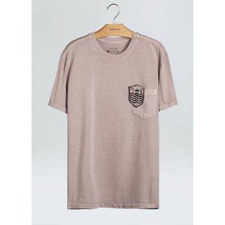 T-Shirt Bolso Brasao Mc-Boto - P