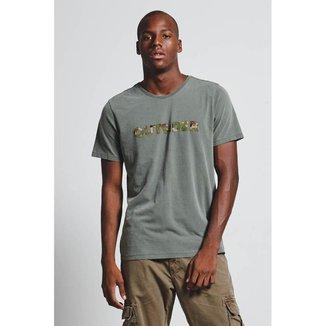 T-Shirt Camu Outsider Masculina