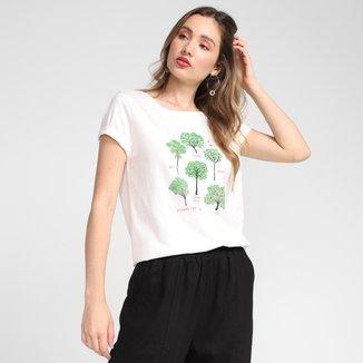 T-shirt Cantão Classic Árvores Feminina