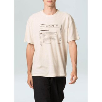 T-Shirt Eco Blend Respect Our People-Cru - P
