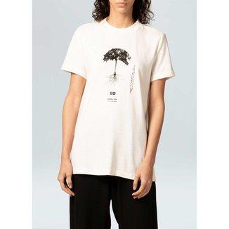 T-Shirt Fem Reduce Eco-Offwhite - P