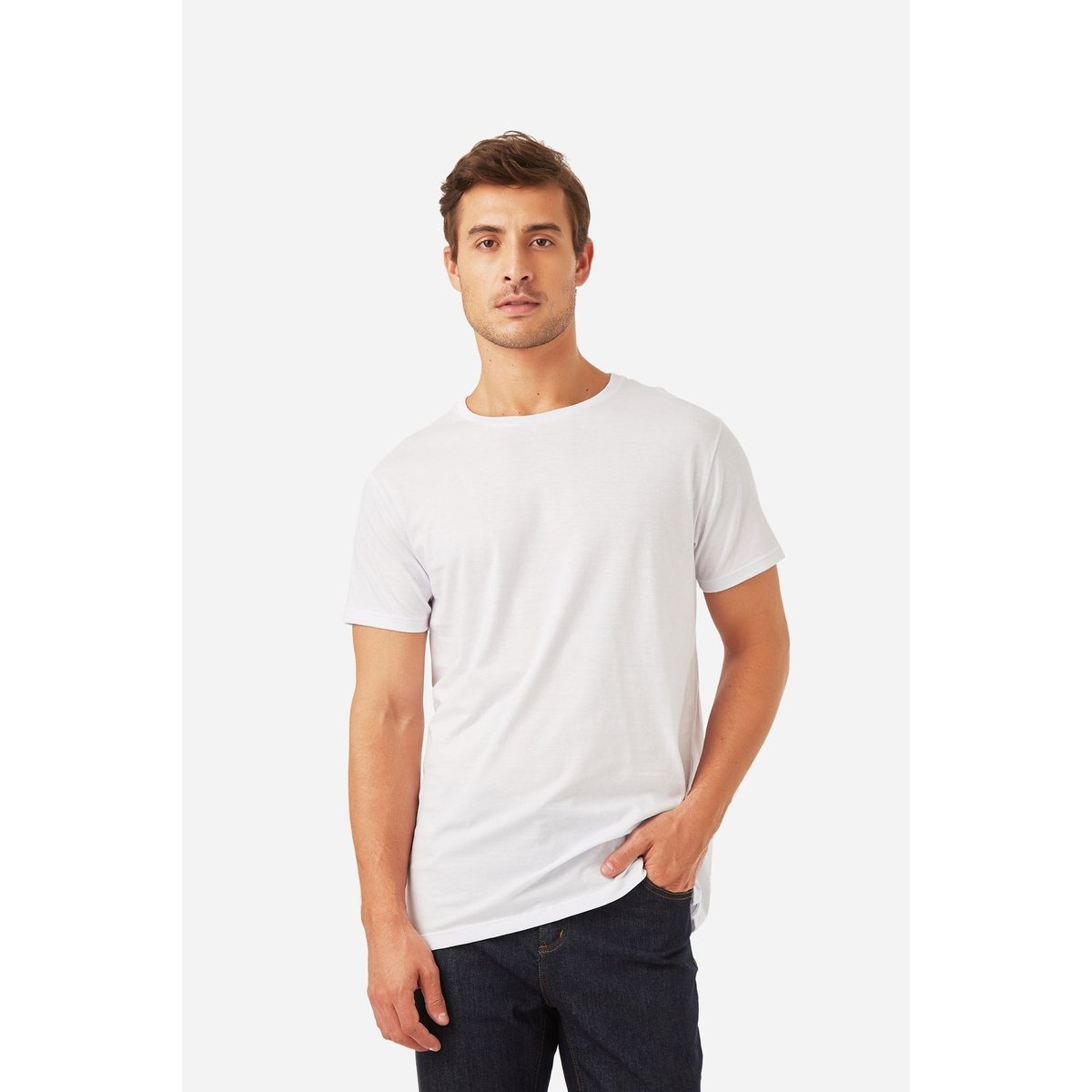 52ddcc91ac T-Shirt Foxton Malha Pima Masculina - Compre Agora