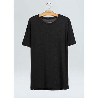 T-Shirt Light E-Basics Ii-Preto - P