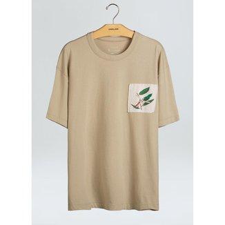 T-Shirt Pocket Cdc Flor Respect-Eucalipto - G