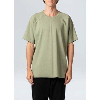T-Shirt Raglan E-Colors Amazon Future-Verde Cerrado - P