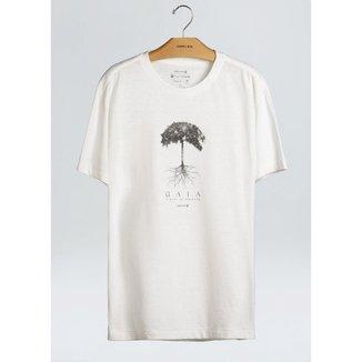 T-Shirt Rustic Eco Cdc Gaia-Offwhite - P