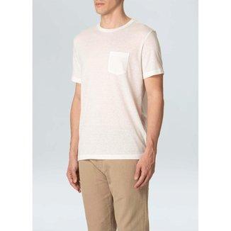 T-Shirt Rustic Pocket E-Basics Mc Ii-Offwhite - PP
