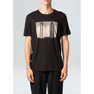 T-Shirt Soft Used Long Duplo-Preto - PP