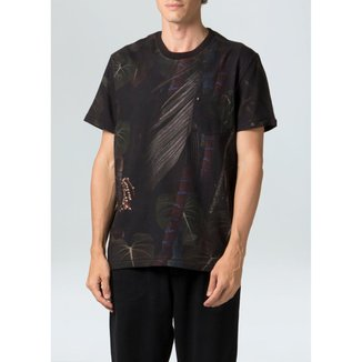 T-Shirt Strong Pocket Cipó-Preto/Verde - P