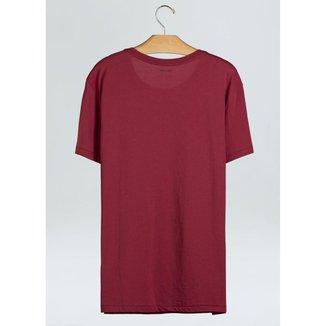 T-Shirt Supersoft Pocket-Vermelho Jambo - P