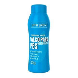 Talco Desodorante Pés Tradicional 120g Vini Lady