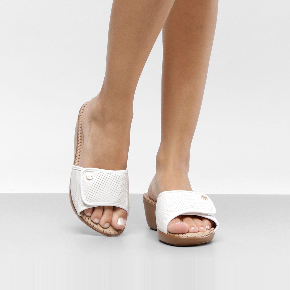 a96da58047 Tamanco Anabela Modare Velcro Feminina - Compre Agora