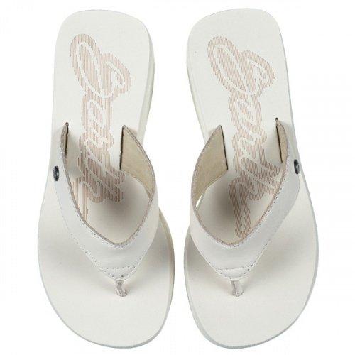 Tamanco Barth Shoes Sorvete Bicolor Feminino - Areia
