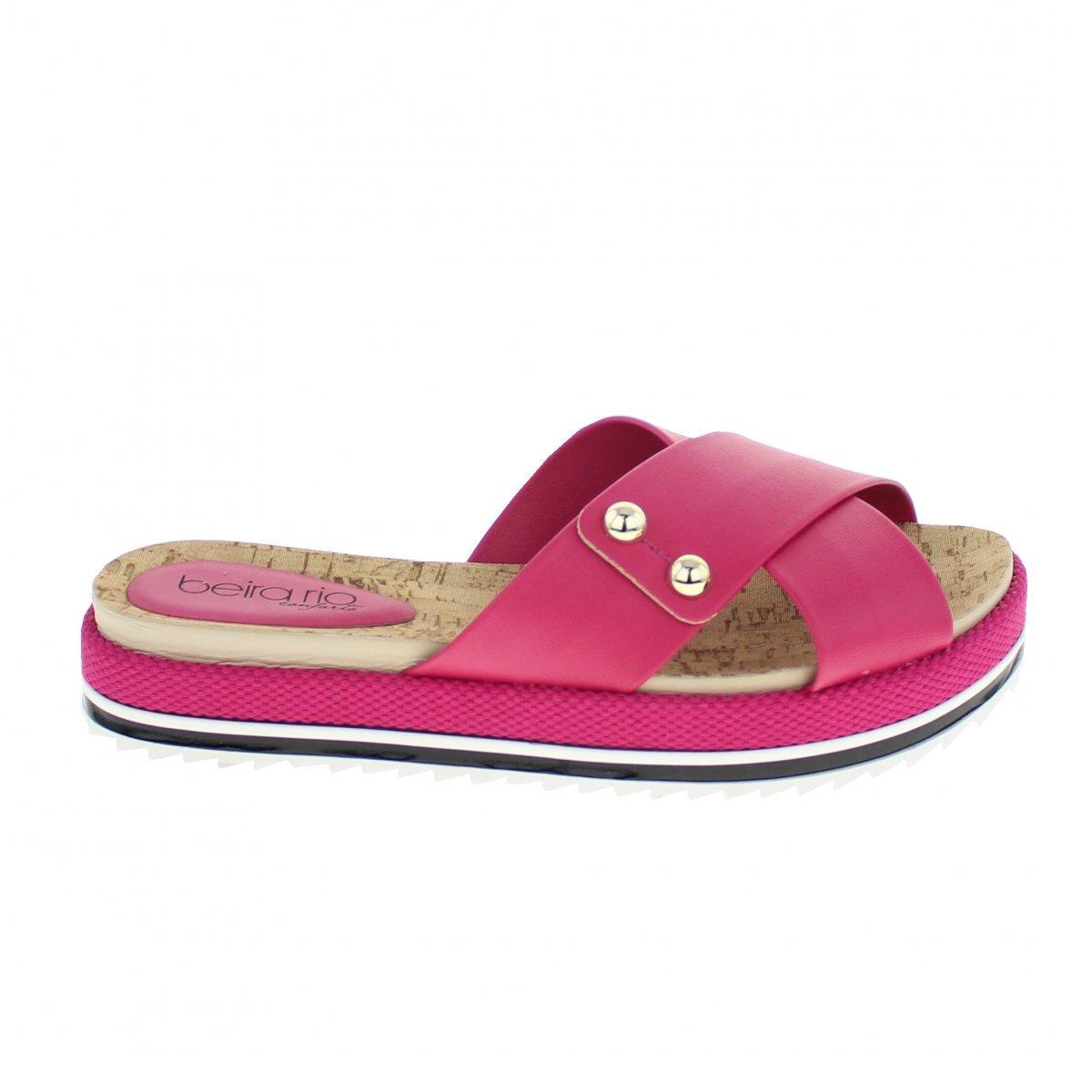 Pink Tamanco Feminino Beira Tamanco Rio Beira OwBFHaqX