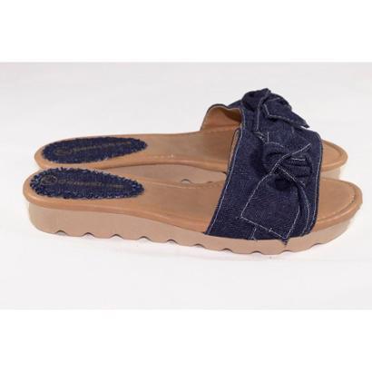 Tamanco Gomes Shoes Tratorada Tamanco Feminina-Feminino