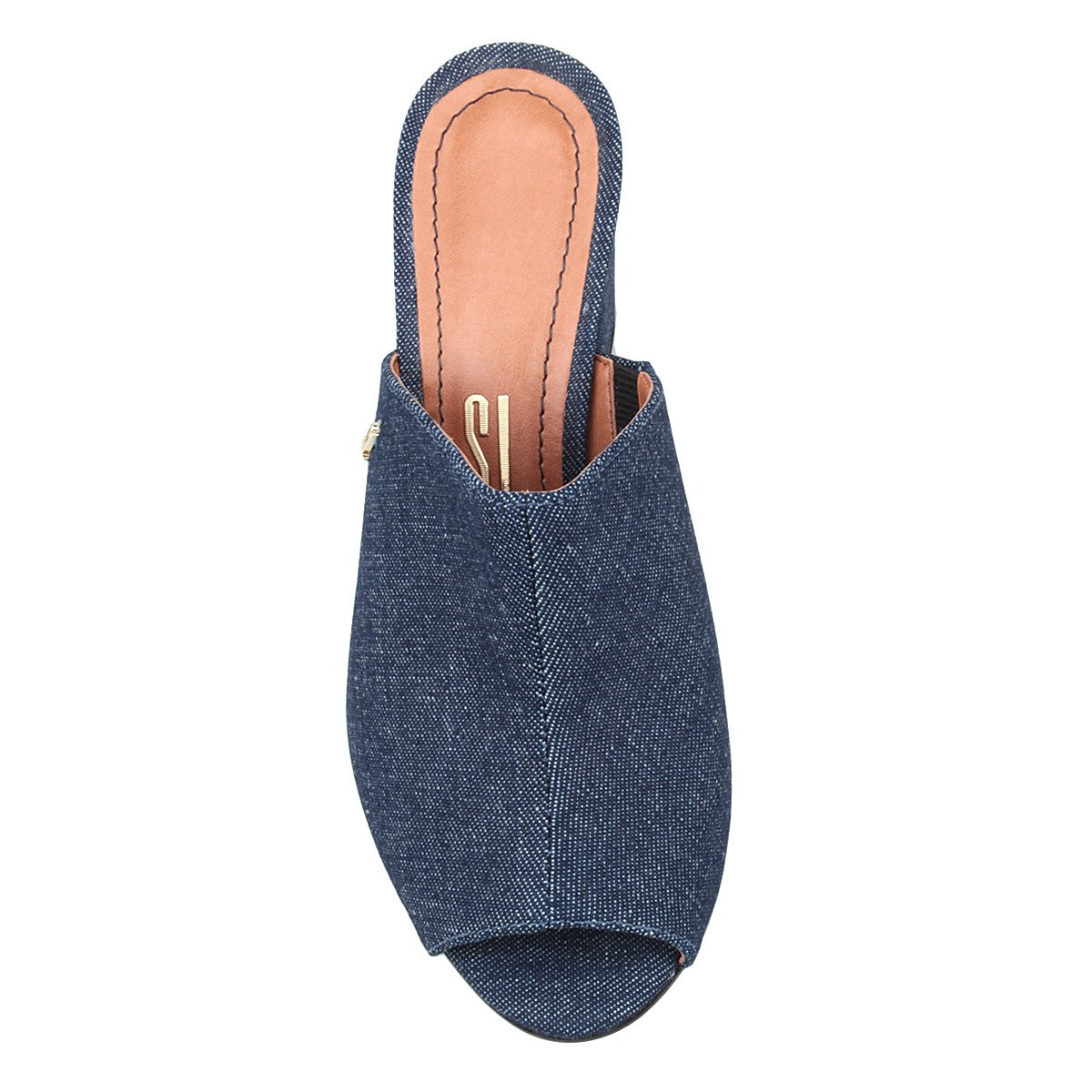 Grosso Lolla Tamanco Jeans Santa Feminino Salto Santa Jeans Tamanco Lolla Salto qF6PaPw0