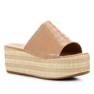 Tamanco Shoestock Flatform Slide
