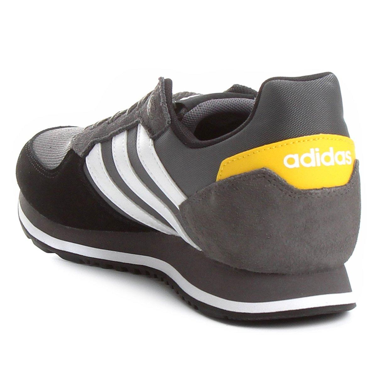 2c0b4500fd Tênis Adidas 8K Masculino - Preto - Compre Agora