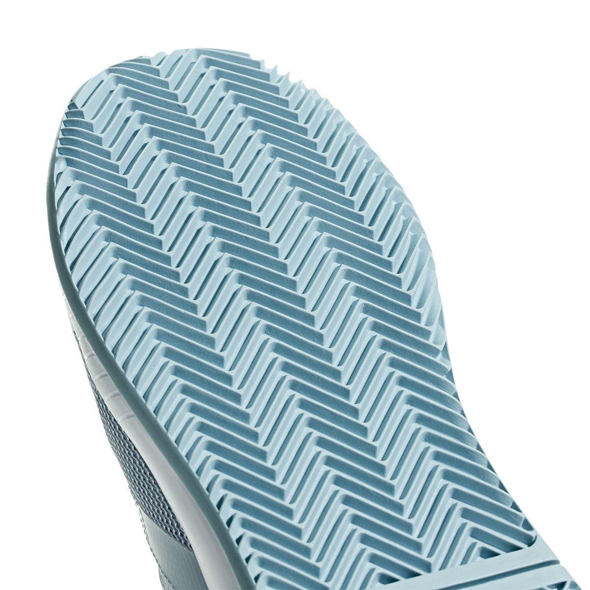 Tênis Adidas Adizero Defiant Bounce Feminino - Azul Claro e Branco ... 841003e808874