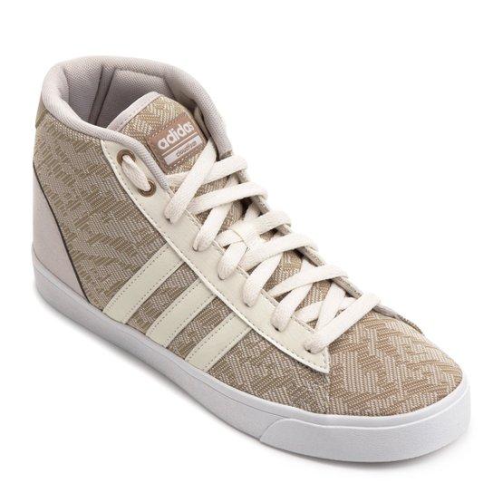 Tênis Adidas Cf Daily Qt Mid Feminino - Bege
