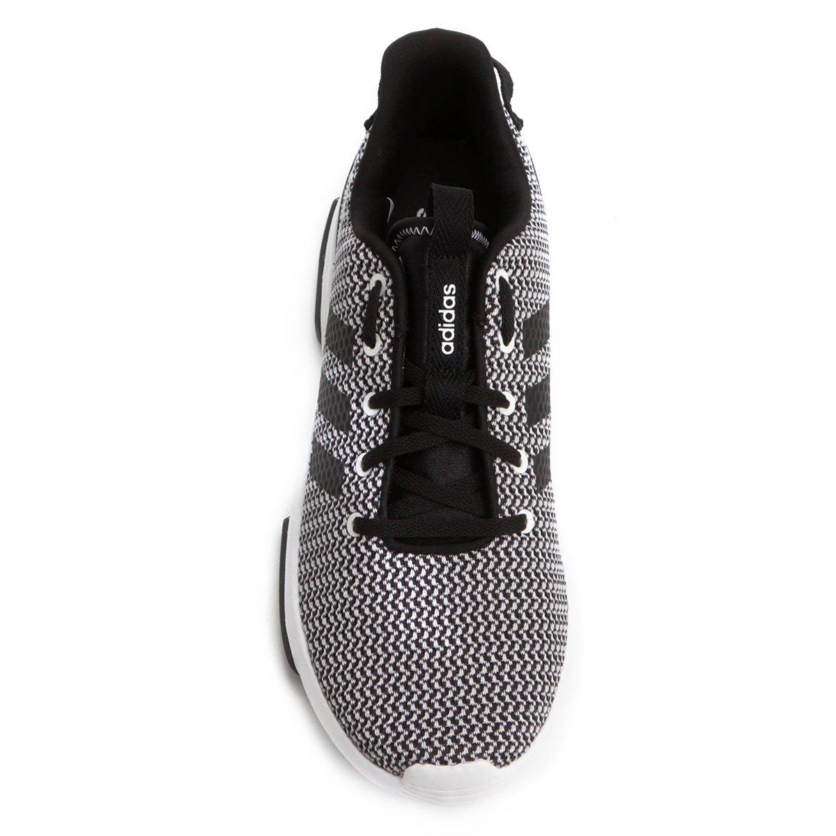 1f172c9762 Tênis Adidas Cf Racer Tr Masculino - Preto e Branco - Compre Agora ...
