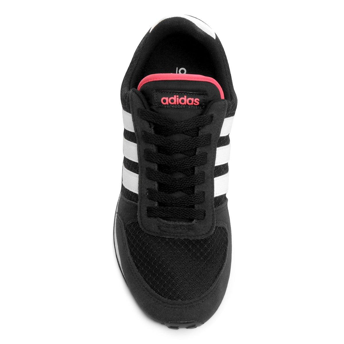 Tênis Adidas City Racer W Feminino - Preto - Compre Agora  f7b6fee989998