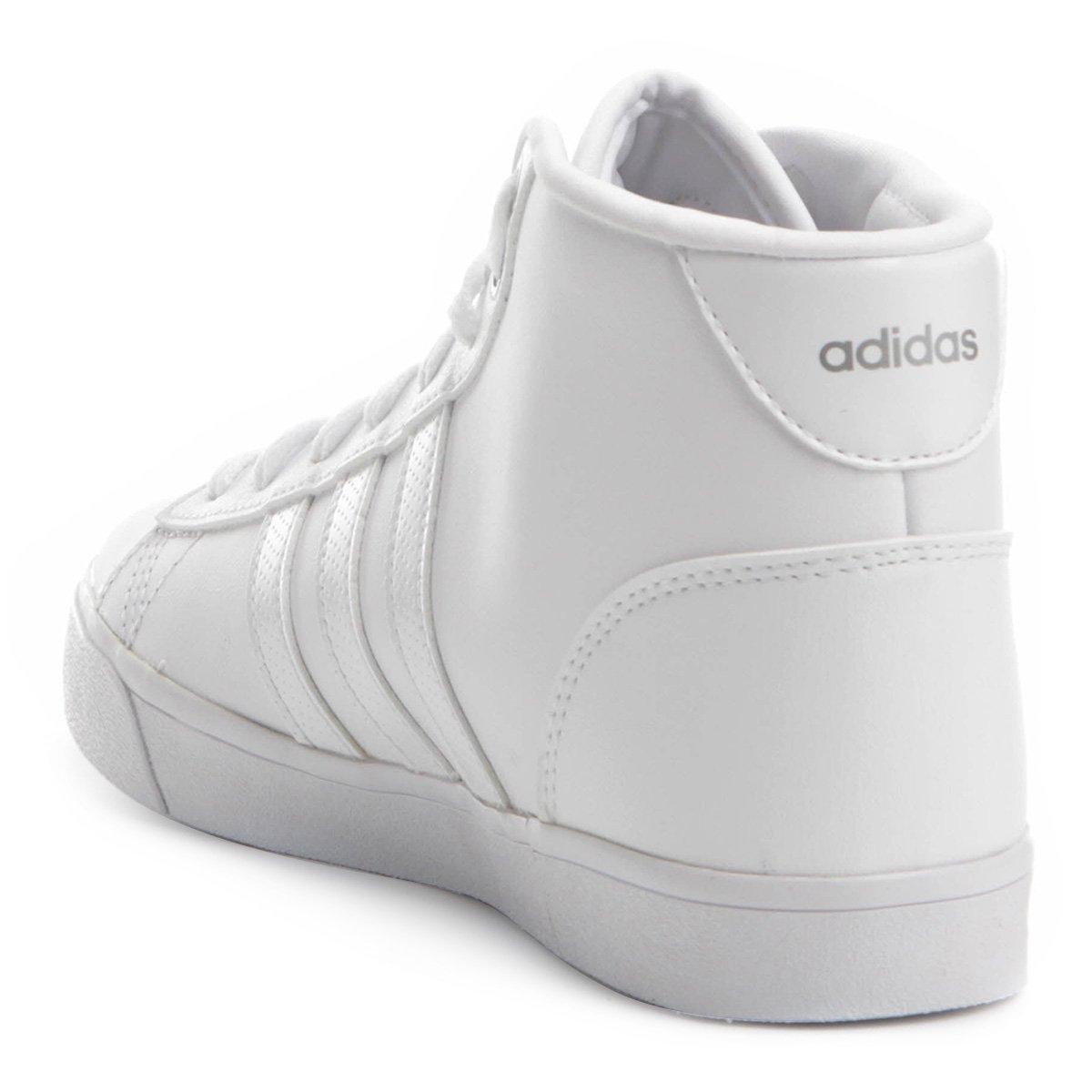 Tênis Adidas Cloudfoam Daily QT Feminino - Branco - Compre Agora ... 309e6710efa65