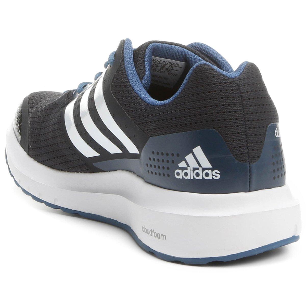 Tênis Adidas Duramo 7 Feminino - Preto e Azul - Compre Agora  e9c2bafb244a6