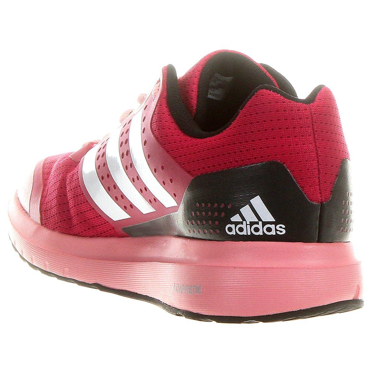 d44e9c0914 Tênis Adidas Duramo 7 Feminino - Rosa e Cinza - Compre Agora