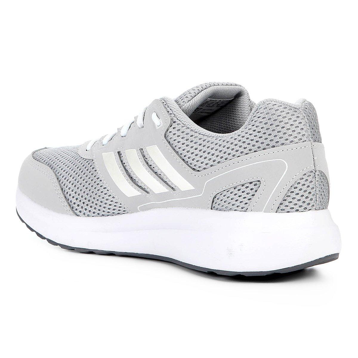 Tênis Adidas Duramo Lite 2 0 Feminino Chumbo e Branco