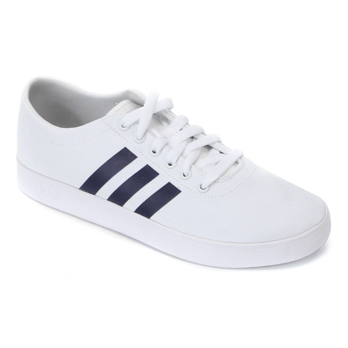 Tênis Adidas Easy Vulc 20 Masculino - Branco e Azul
