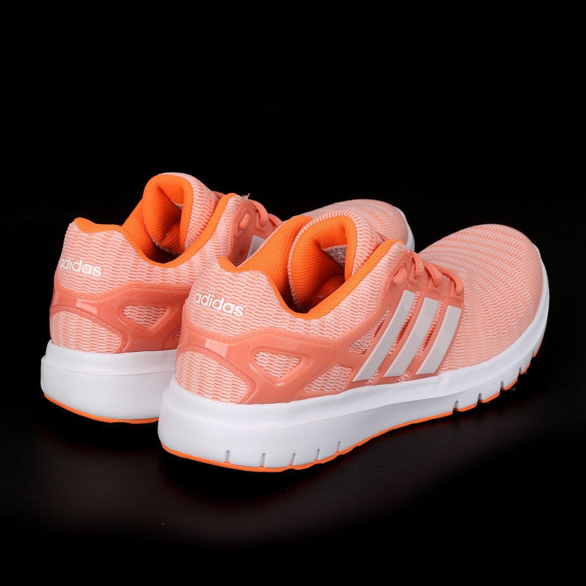 Tênis Adidas Energy Cloud V Feminino - Coral - Compre Agora  4df87f029f20d