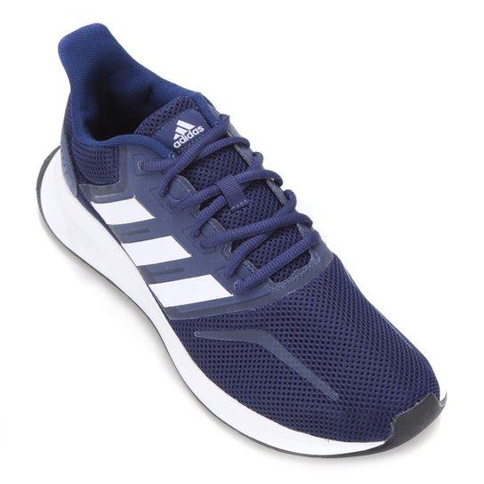 Tênis Adidas Falcon Masculino - Azul+Preto
