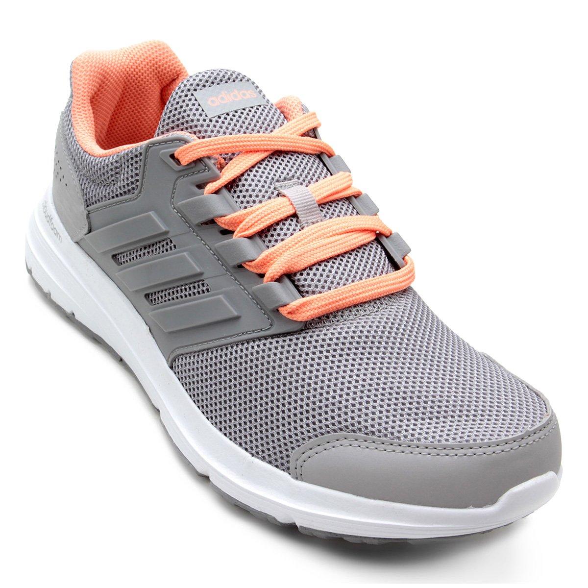 Tênis Adidas Galaxy 4 Feminino Cinza