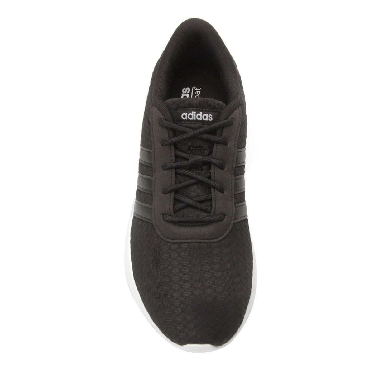 Tênis Adidas Lite Racer W Feminino - Preto e Gelo - Compre Agora ... 45494ec3209fd