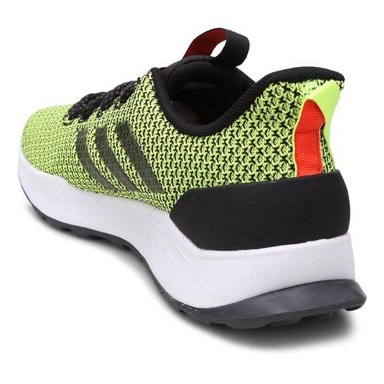 online store b41e8 c9e8b Tênis Adidas Questar Trail Masculino - Verde Limão