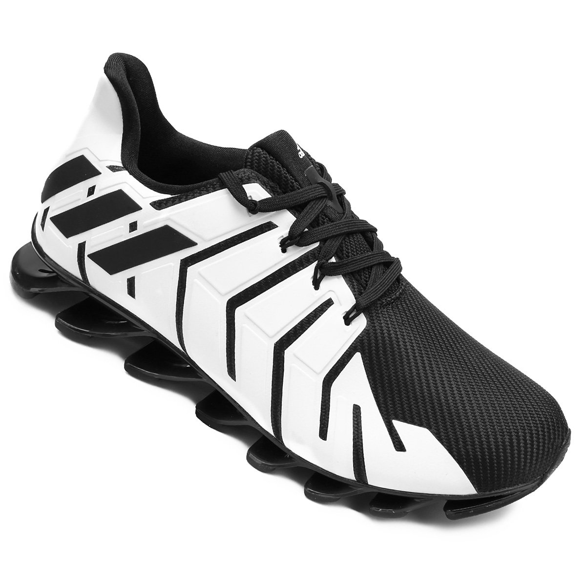 pretty nice 63307 47366 ... shopping tênis adidas springblade pro masculino branco e preto b8e08  87cd6