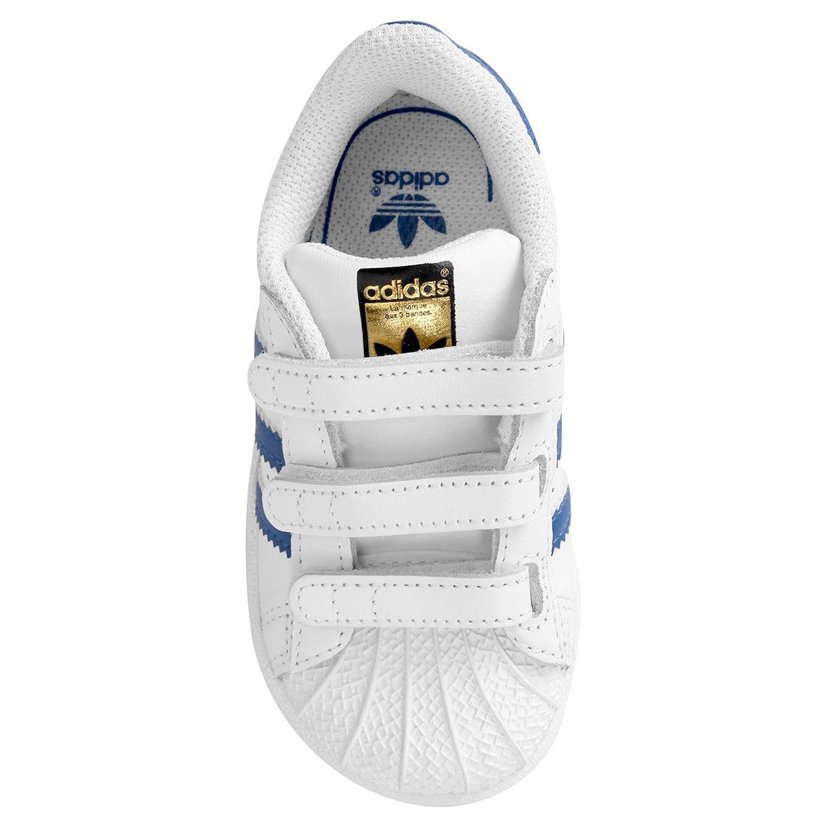 Tênis Adidas Superstar Foundation Cf Infantil - Compre Agora  a6fc3db842782