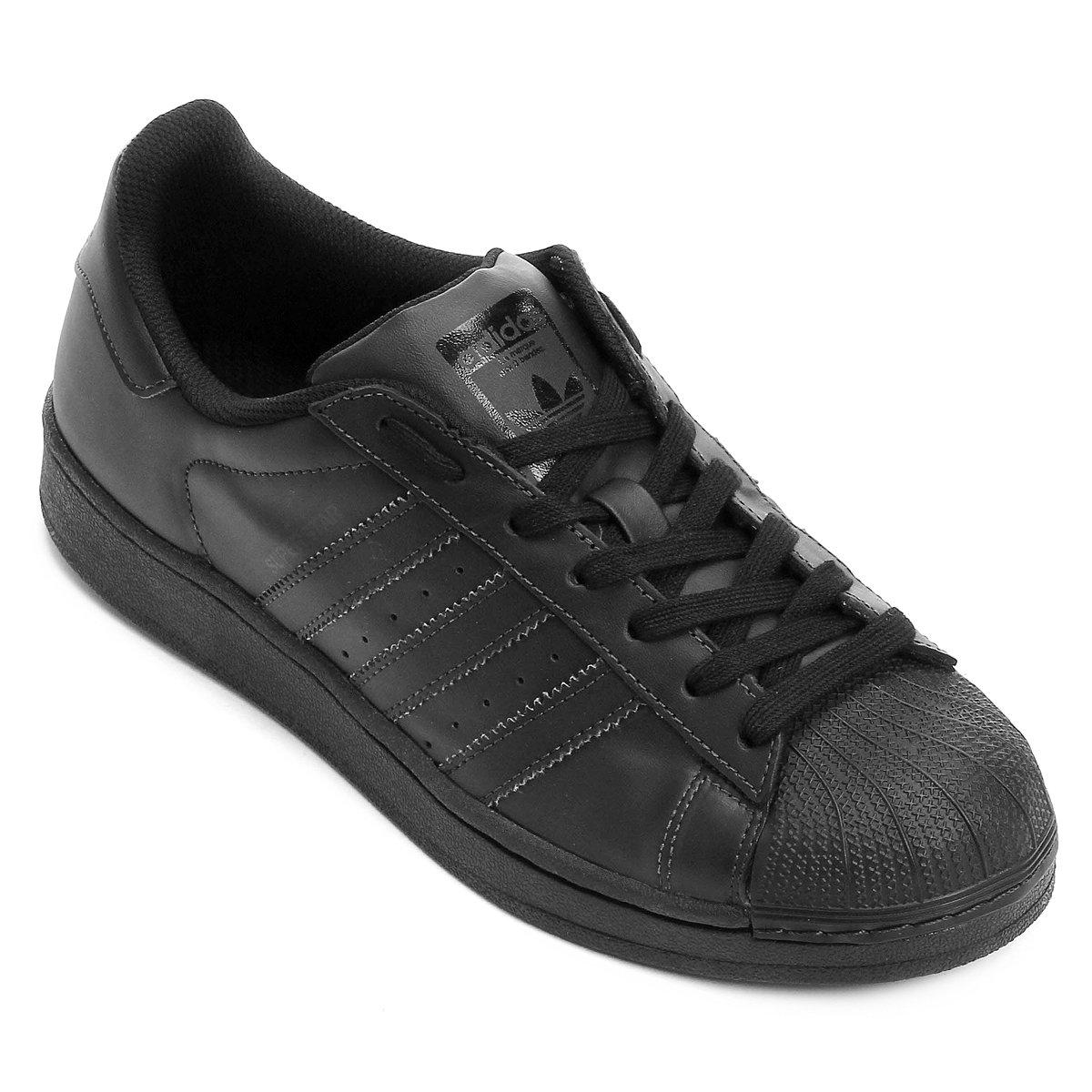 f28e71daa Tênis Adidas Superstar Foundation - Preto | Zattini