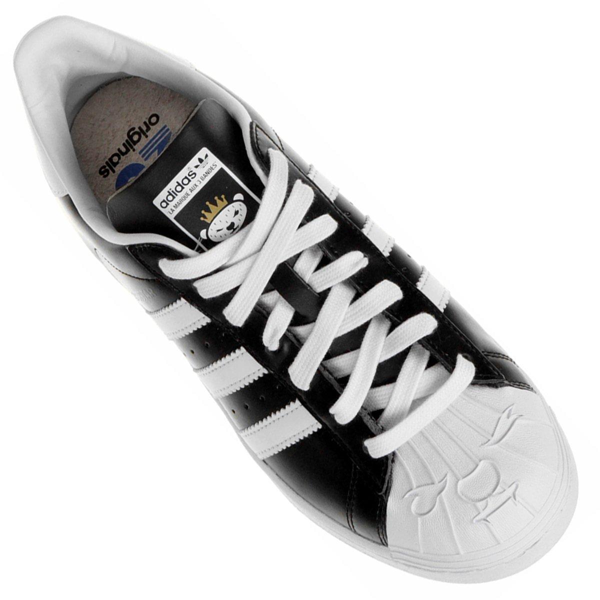0a7afeb175 ... Tênis Adidas Superstar Nigo. Tênis Adidas Superstar Nigo - Preto+Branco