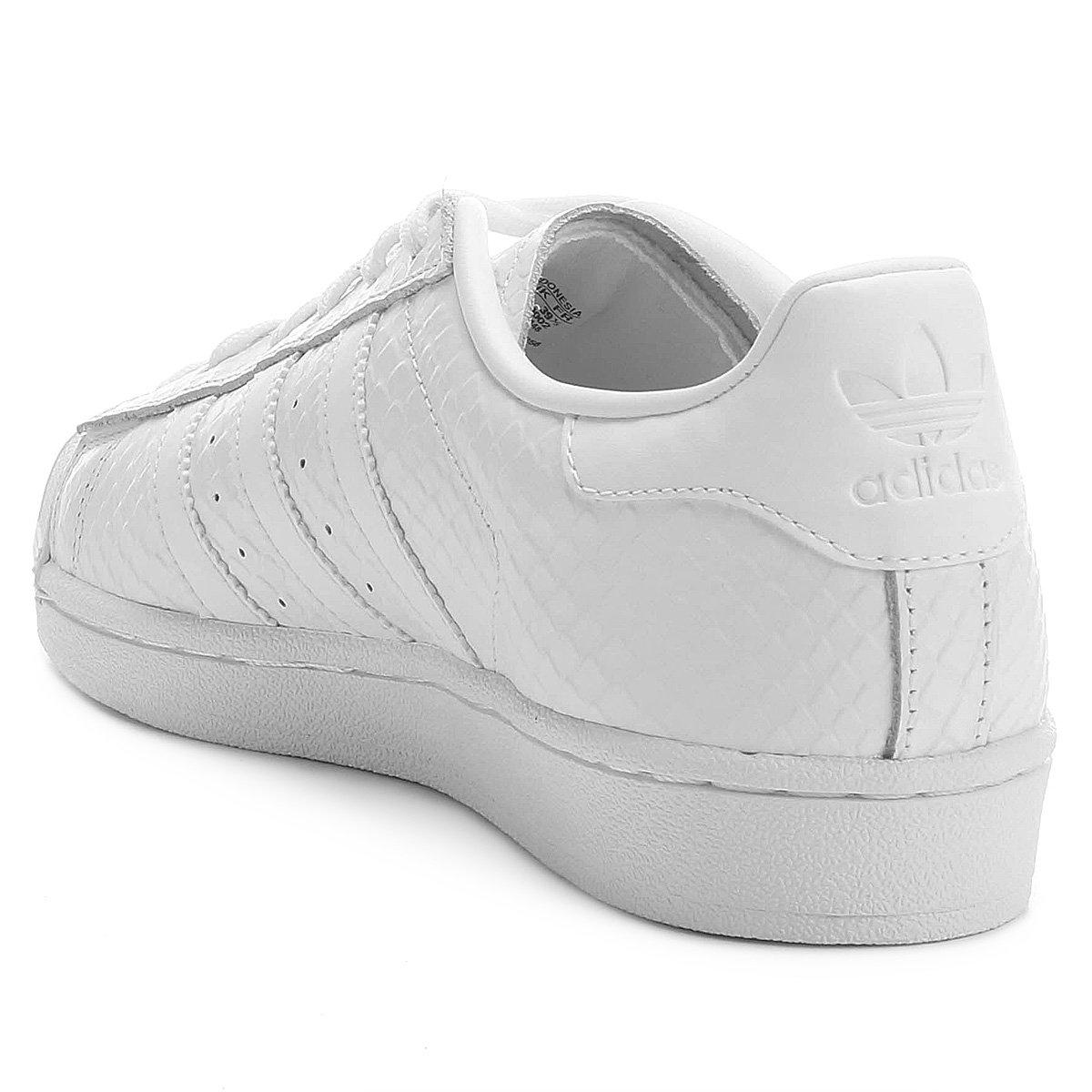 002c492beb ... Tênis Adidas Superstar W  Tênis Adidas Superstar W. Tênis Adidas  Superstar W - Branco+Preto