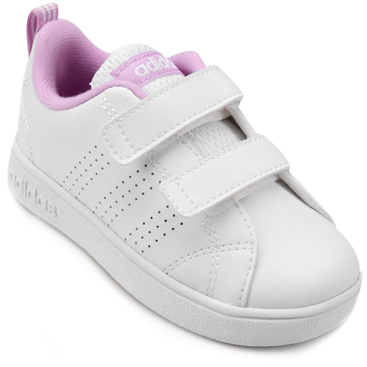 a5482350f4 Tênis Adidas Vs Advantage Clean Infantil Compre Agora Zattini